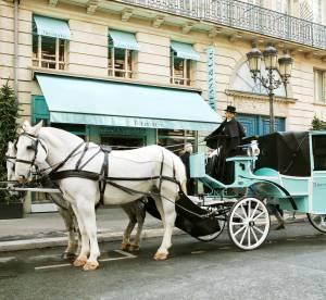 Tiffany & Co. célèbre Noël et enchante Paris avec sa calèche bleue