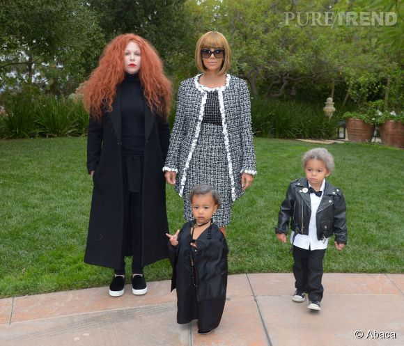Kim Kardashian et North West pour Halloween.