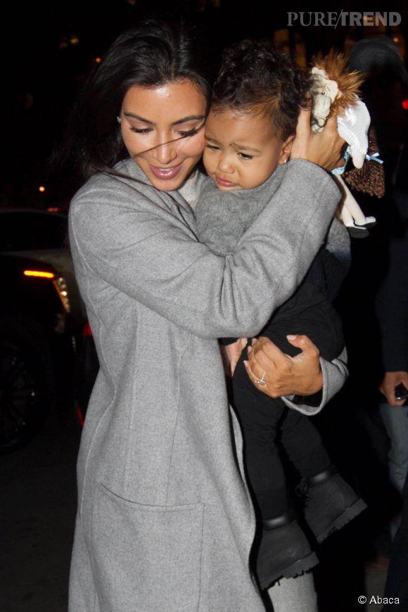Kim Kardashian et North West se retrouvent régulièrement sous les flashs.