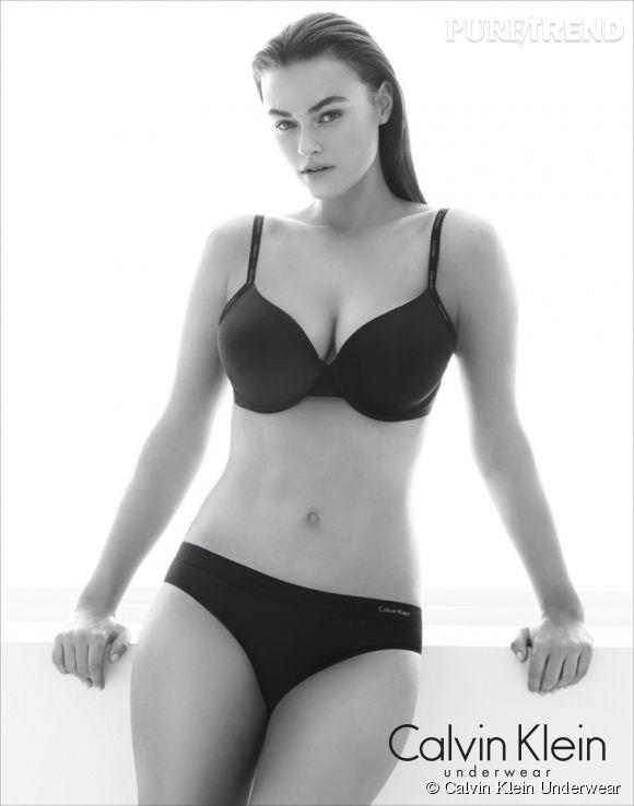 Myla Dalbesio, nouveau visage de la campagne de lingerie Calvin Klein, fait une taille 40.
