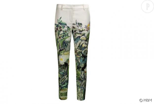 Pantalon H&M de collection Conscious de l'été 2013.