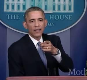 Conférence de presse de fin d'année du président Barack Obama : seules les femmes peuvent lui poser des questions.