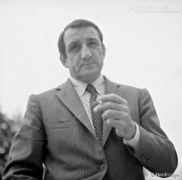 """Lino Ventura, le """"Gorille"""" du cinéma français, un acteur à la classe intemporelle."""