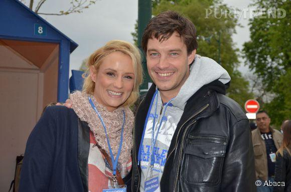 Elodie et son mari Bertrand Lacherie.