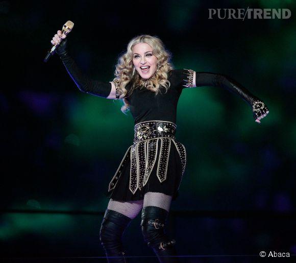 Madonna donne vraiment tout.