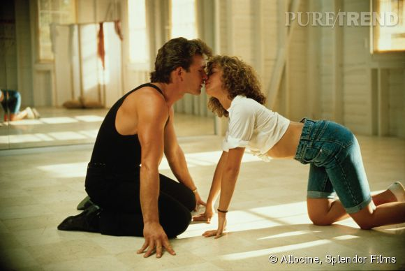"Jennifer Grey, Patrick Swayze dans ""Dirty Dancing""."