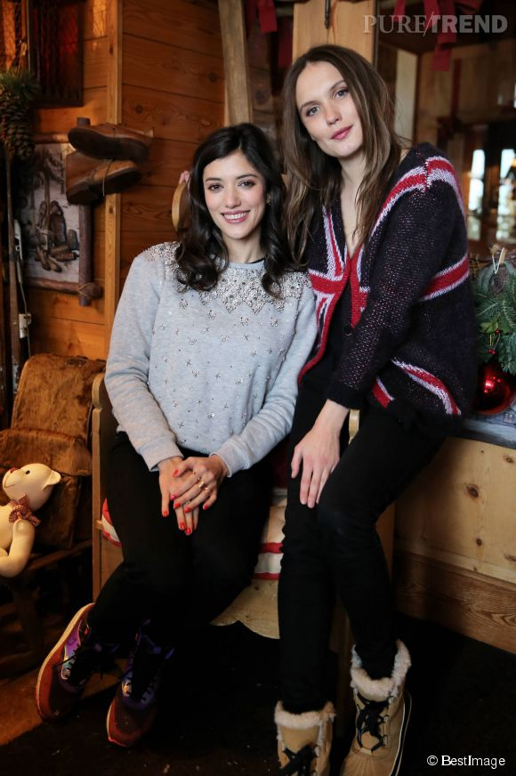 Vanessa Guide et Ana Giradot, ambassadrices du chic à la française.