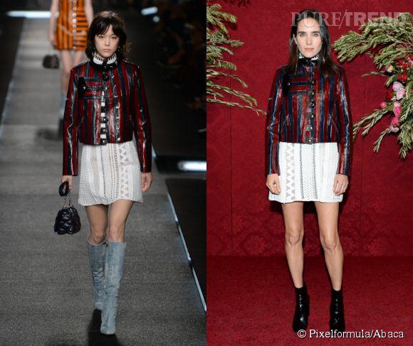 Louis Vuitton Printemps-Été 2015 vs Jennifer Connelly.