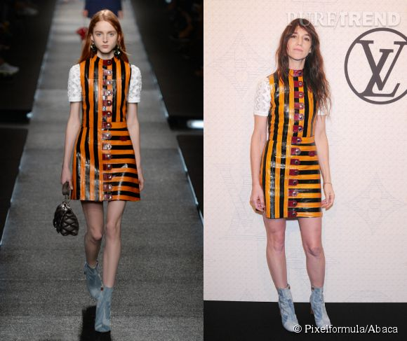 Louis Vuitton Printemps-Été 2015 vs Charlotte Gainsbourg.