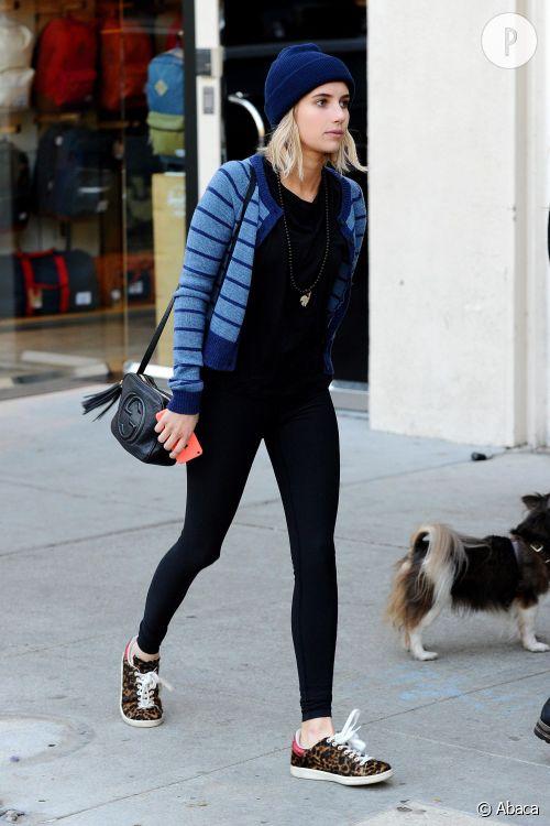 Emma Roberts : son look à copier.