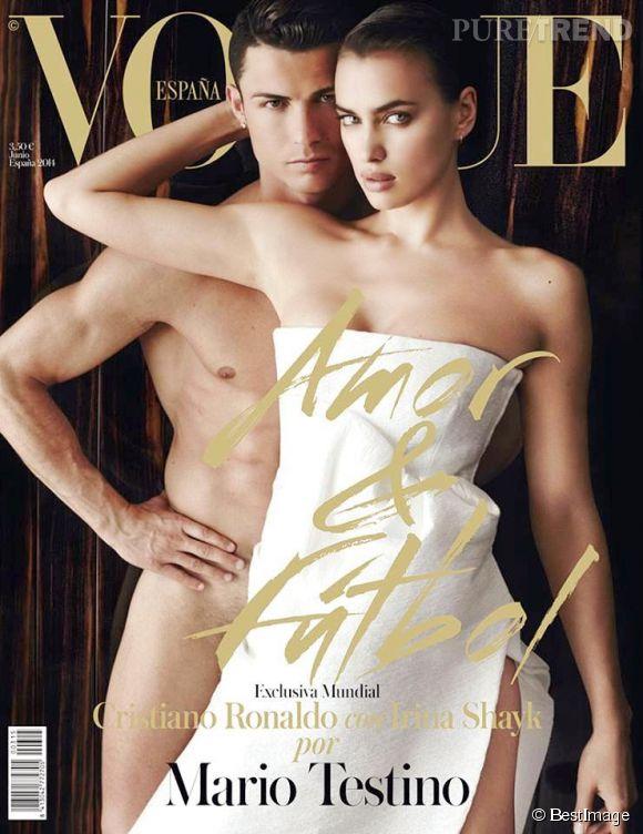 """Irina Shayk et celui qui se fait appeler """"CR7"""" formaient l'un des couples les plus influents du show business. Ils ont même posé ensemble pour  Vogue ."""