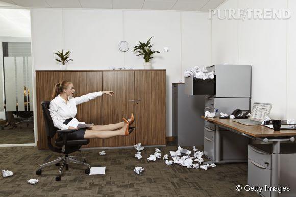 Le sport au bureau, la meilleure solution pour se muscler au quotidien.