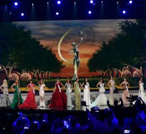 Les Miss défilent au concours de Miss Univers 2014.