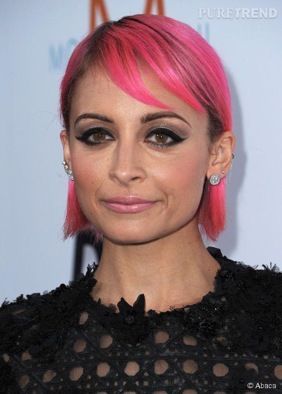 Nicole Richie a désormais les cheveux roses... Mais pour combien de temps ?