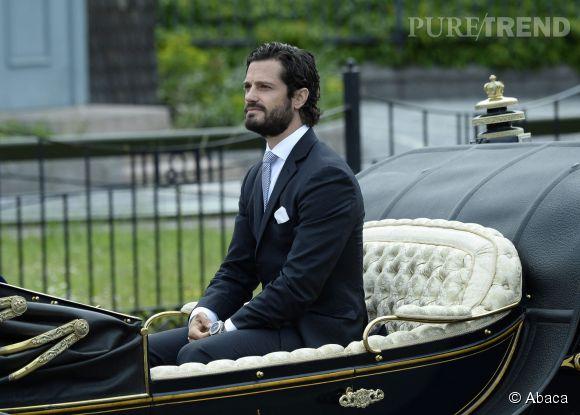 Le prince Carl Philip de Suède est de passage en Isère pour visiter la plateforme IKEA.