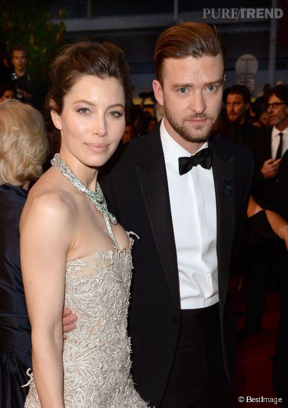 Justin Timberlake a posté sur Instagram une photo du ventre très arrondi de sa femme, l'actrice Jessica Biel.