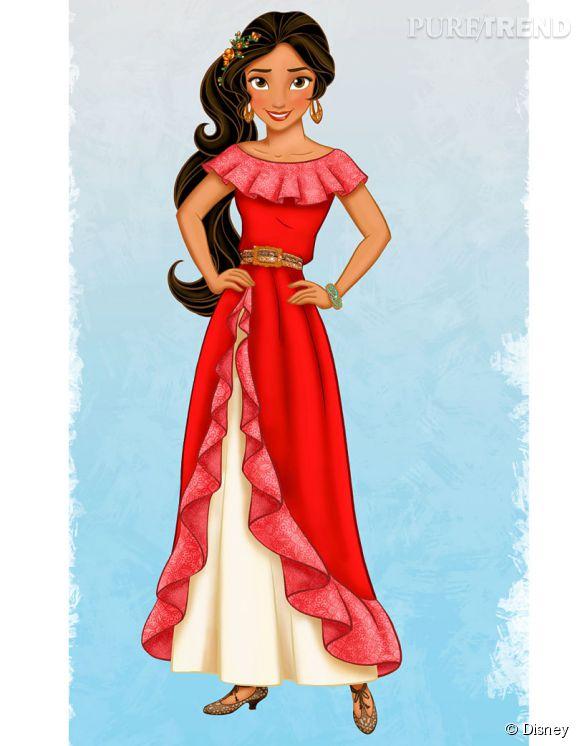 Elena, première princesse latina des studios Disney.