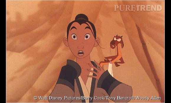 Mulan, personnage  inspiré par Hua   Mulan.