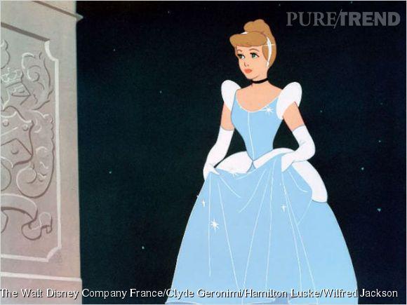 Cendrillon, une servante qui deviendra princesse.