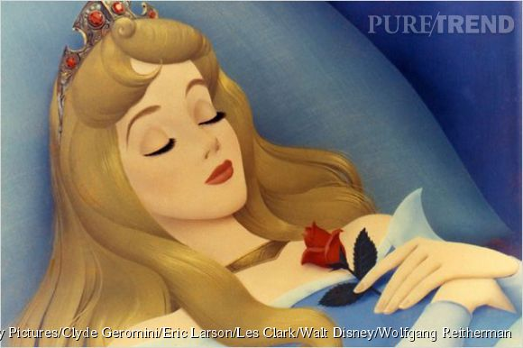 """Aurore, dans   """"La Belle au Bois Dormant""""."""