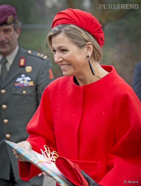 La reine Maxima des Pays-Bas a adopté le couvre-chef favori de Kate Middleton : un adorable bibi.
