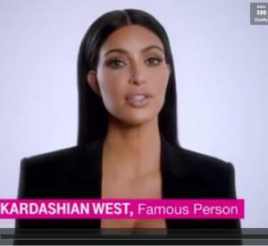 Kim Kardashian pour le Super Bowl.