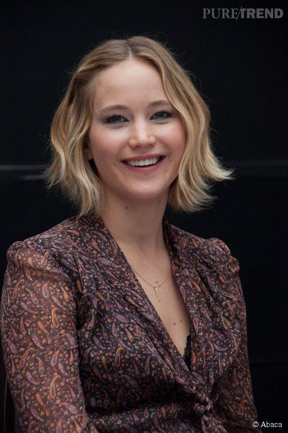Pour  Vanity Fair,  Jennifer Lawrence a accepté de prendre la pose nue recouverte d'un boa constrictor.