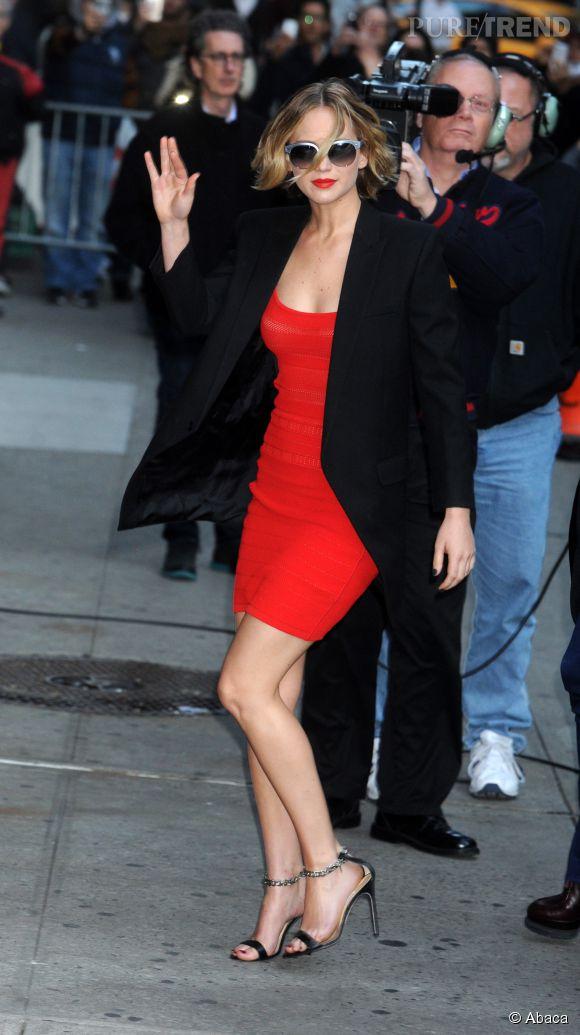 Jennifer Lawrence, une véritable bombe !