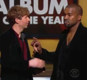Kanye West : pas content que Beck l'ait emporté sur Beyoncé et il le dit !