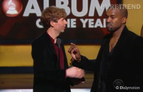 Grammy Awards : Kanye West n'a pas apprécié que Beck l'emporte sur Beyoncé dans la catégorie meilleur album de l'année.