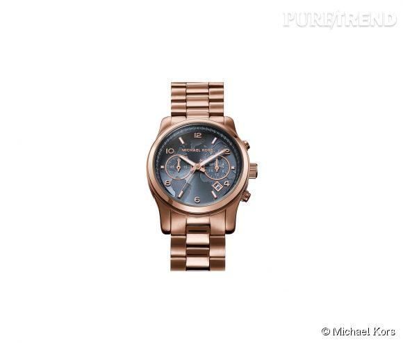 Montre Watch Hunger Stop de Michael Kors    Mouvement à quartz, boîtier et bracelet en acier 299€. Pour une montre achetée, 100 repas seront distribués dans les pays touchés par la malnutrition.