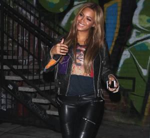 Beyoncé : très sexy en pantalon de cuir et cheveux wild !
