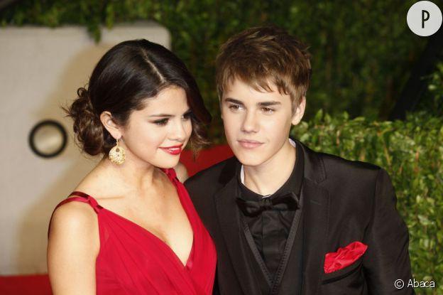 Justin Bieber et Selena Gomez.