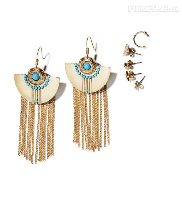 moins cher profiter du prix le plus bas grande variété de styles Bijoux issus de la collection H&M Loves Coachella - Puretrend