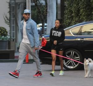 Chris Brown et Karrueche aiment pourtant les animaux... Que dirait-il si on lui fabriquait des pantouffle avec la fourrure de Médor ?