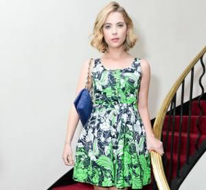 Ashley Benson, tenue sensuelle et printanière pour la NY Fashion Week