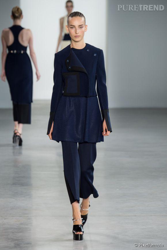 Défilé Calvin Klein Collection Printemps-Été 2015.