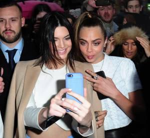 Kendall Jenner et Cara Delevingne : selfie sous la pluie pour les deux copines