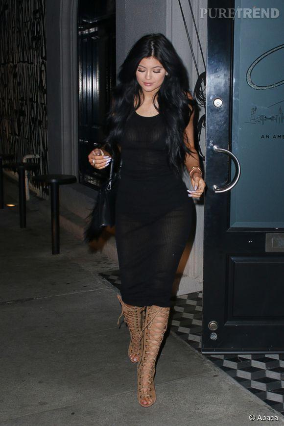 Kylie Jenner n'a que 17 ans, difficile à croire.