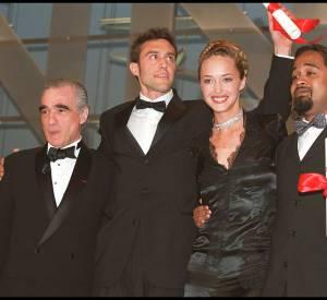 A Cannes elle a aussi pris la pose avec Martin Scorsese. Classe.