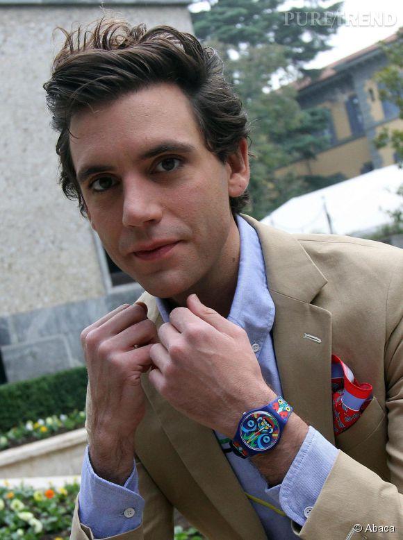 Mika, amoureux d'Andy depuis huit ans déjà.