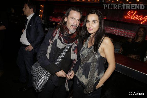 Florent Pagny et Azucena, ensemble depuis plus de vingt ans.