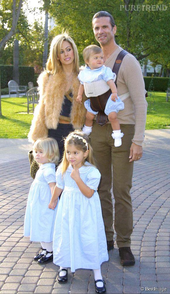 Lorenzo Lamas, son ex-femme Shauna Sand, et leur trois filles.