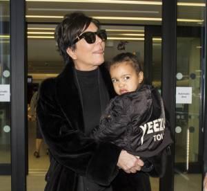 Kim Kardashian : North West déteste les paparazzi, le regard qui tue