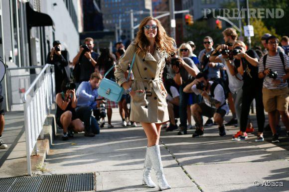 Chiara Ferragni, la blogueuse la plus influente du mode et la plus convoitée par les photographes.