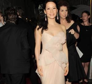 Lucy Liu en Marchesa.