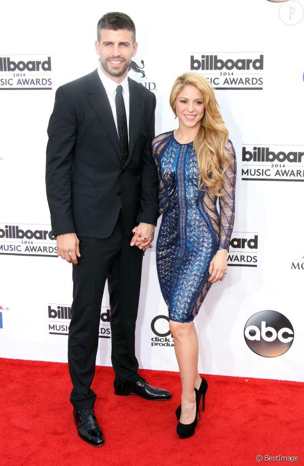 Shakira et son mari, le joueur Gerard Piqué.