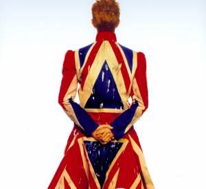 """Photographie originale pour la couverture de l'album""""Earthling"""", 1997. Issu de l'exposition """"David Bowie is"""", jusqu'au 31 mai 2015 à la Philharmonie de Paris."""
