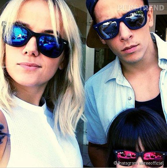Alizée, Grégoire et Annily ont profité de vacances en Floride.