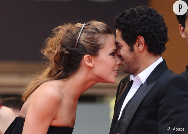 Mélissa Theuriau et Jamel Debbouze amoureux sur le tapis rouge du Festival de Cannes.